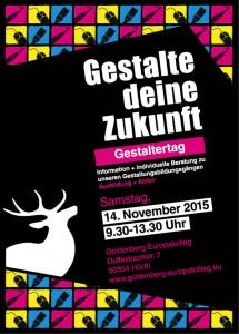 Flyer Gestaltertag 2015 HP2