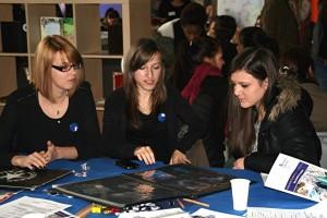 Gestaltertag 2013 Gestaltungstechnische Assistenten erläutern die künstlerische Mappe