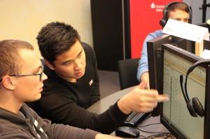 Technische Assistenten beim Excel-Kurs 2 HP