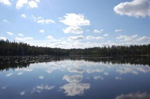 Chemielaboranten in Finnland Sommer September 2014 - Unberührte Natur