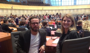 Das EU-Team am Goldenberg Europakolleg - Ingo Schlierbach und Sabine Staiger-Pannes HP