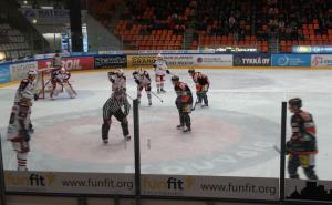 Eishockey im Stadion Kouvola HP
