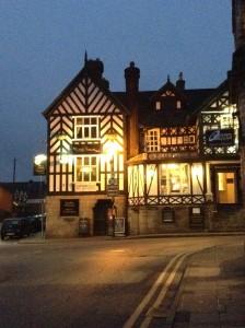 Hotel im Tudor-Stil HP